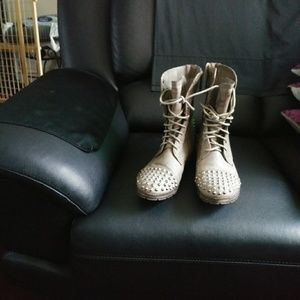 Breckelle Studded Boots